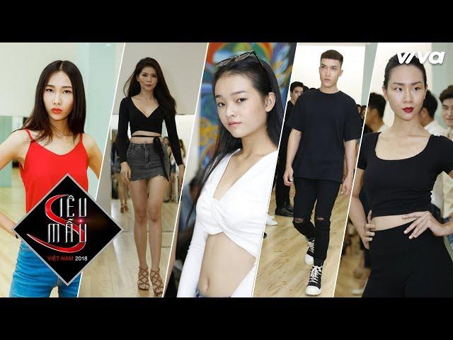 Xuất hiện thí sinh nổi bật tại buổi training kĩ năng catwalk Siêu Mẫu Việt Nam 2018 tại TP HCM