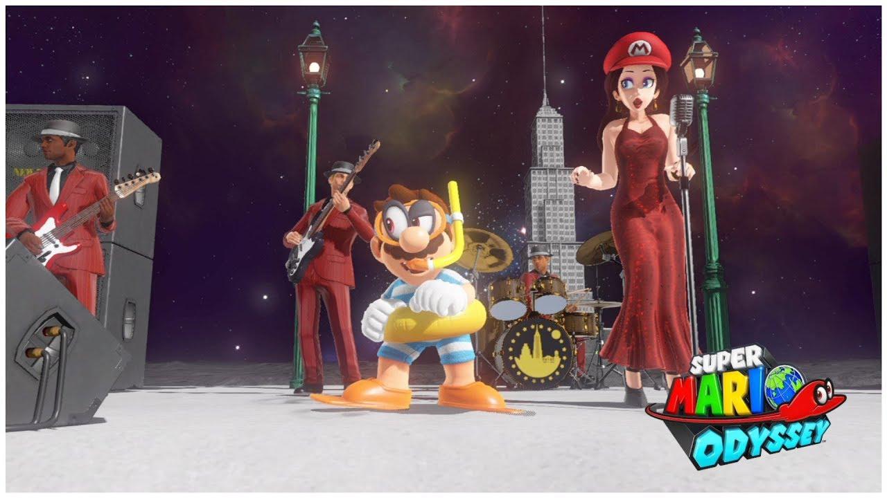 最終隱藏關卡 月之國 更背面 超級瑪利歐 奧德賽 Part 12 Super Mario Odyssey - Darker Side Kingdom (Secret Final Kingdom) - YouTube