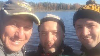 Двойной Треш Весёлая рыбалка с друзьями 2018 и 2021 года