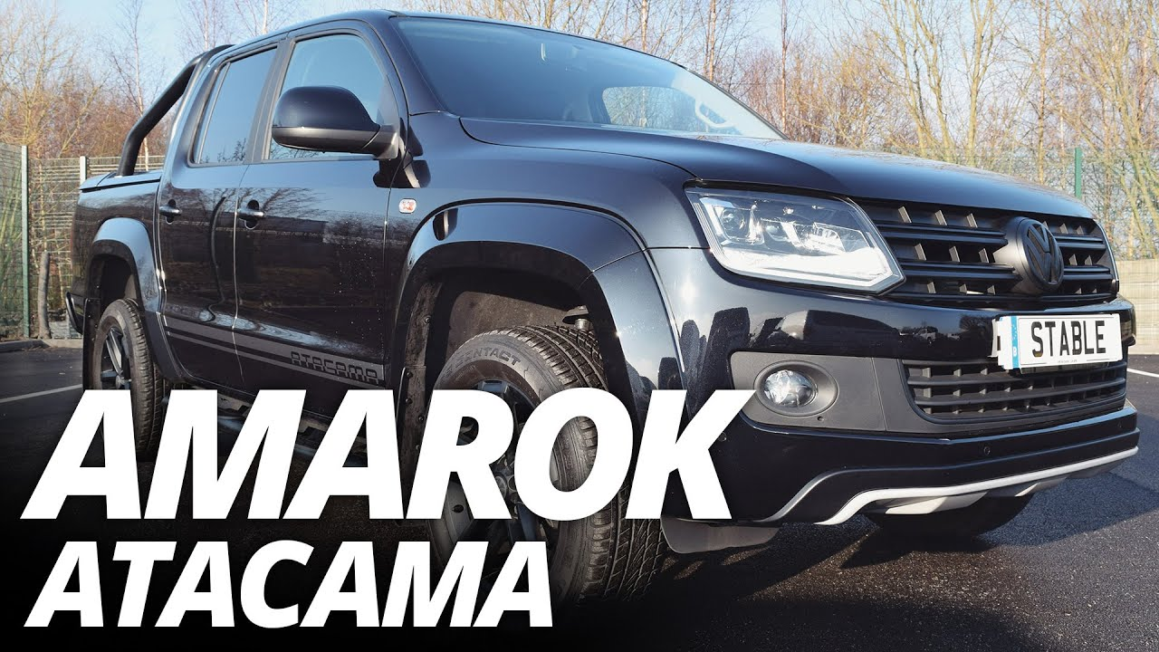 Vw Amarok Lease Special Blacked Out Vw Amarok Atacama Walk Around Youtube