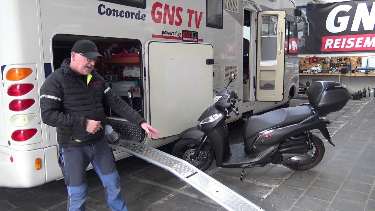 Halterung heckgarage roller wohnmobil Garagenhalterung für