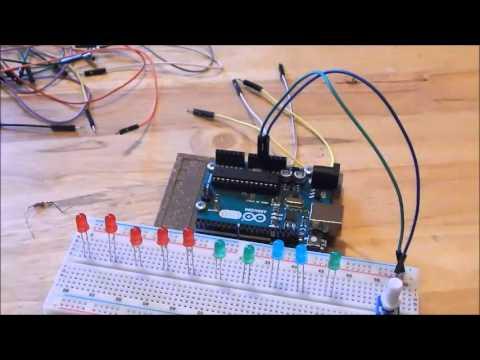 LED Bar Graph (#14 Ultimate Arduino Beginner's Guide ...