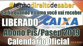 PIS/PASEP 2019/2020: CALENDÁRIO OFICIAL QUE ACABA DE SER LIBERADO PAGO PELA CAIXA ECONÔMICA