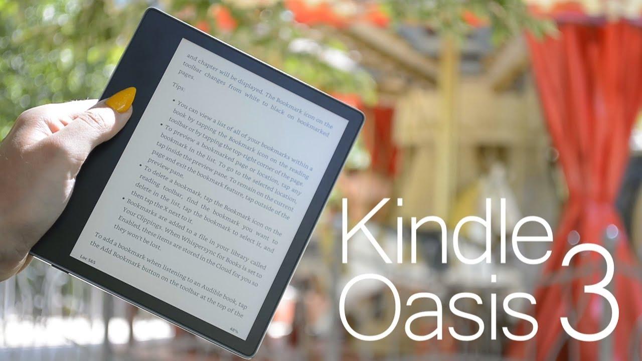 Kindle Oasis 3 - pierwszy czytnik ebooków od Kindle z regulacją barwy światła | pierwsze wrażenia