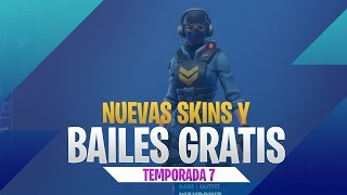 New skins and dances FREE Fortnite - Season 7