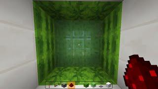 Tuto redstone: Porte à pistons à bloques de slime [3X3]