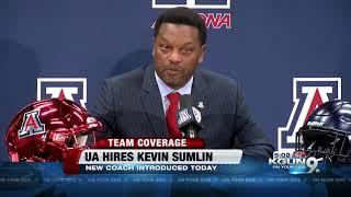 Kevin Sumlin introduced as University of Arizona's head football coach