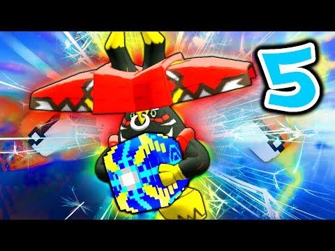 Minecraft Pixelmon ULTRA LUCKY BLOCK Island - Episode 5 - TAPU BULU MOUNTAIN!