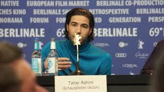 Tahar Rahim à la Berlinale 2019