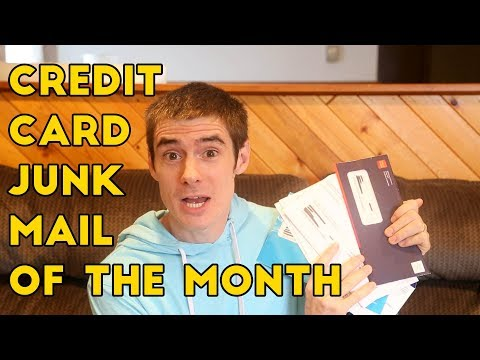Credit Card Junk Mail Of The Month! Well Fargo Propel, Amex Loans Etc...
