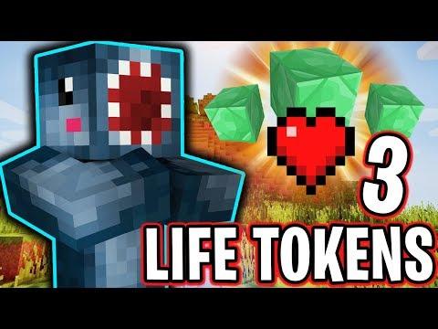 I GOT 3 LIFE TOKENS!! - FRIEND OR FOE! #12 | MINECRAFT