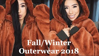 FALL/WINTER OUTERWEAR 2018
