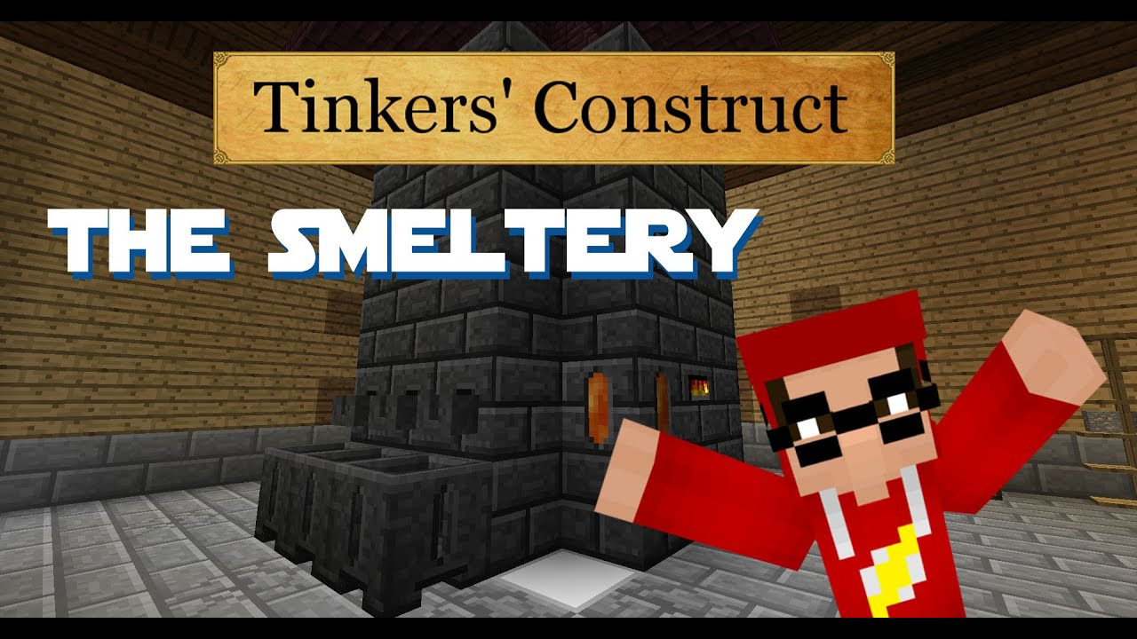 how to add ores to smeltery tinkers