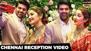 FULL HD VIDEO: Arya-Sayyeshaa Wedding Reception   Exclusive Candid Moments