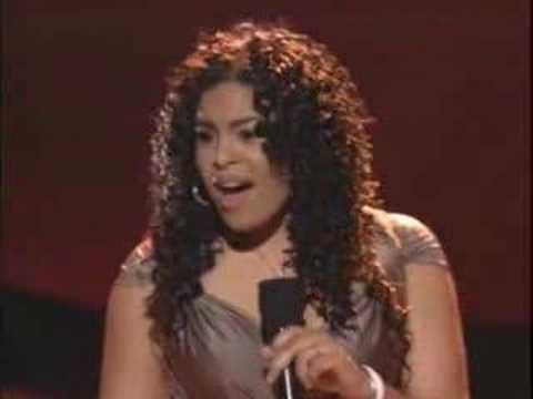 Jordin Sparks - Youll Never Walk Alone - American Idol Top 6