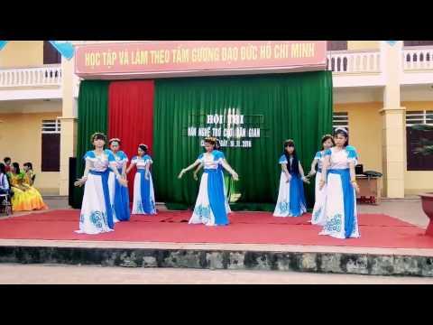 Múa : Vạt Áo Trong Mơ - 8B Trường THCS Chu Hóa