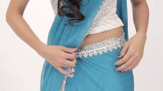 3 Simple Tricks to Drape Saree with Ease