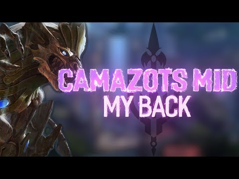 CAMAZOTS MID: HOW MUCH CAN ONE BACK CARRY?!?! - Incon - Smite