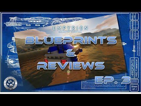 Empyrion Galactic Survival | Blue Prints & Reviews | Ep. 3 - Hub Farm Two Versions