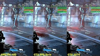 Doom Vulkan AMD RX 480 Vs GTX 1070 Vs GTX 970 Frame Rate Comparison