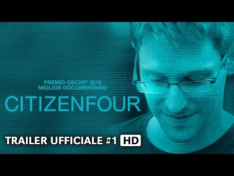 CITIZENFOUR Trailer #1 italiano ufficiale HD