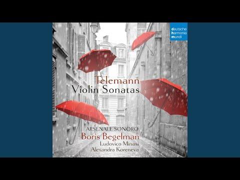 Sonata for Violin and Basso Continuo in G Major, TWV 41:G1: II. Allegro
