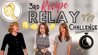 Third Time&#39s the Charm?  Our 3rd Recipe Relay Challenge  Chef Ani