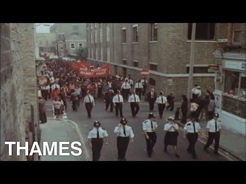 Racism- East London - Asian community - 1978