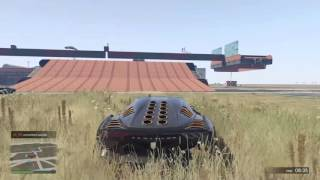 GTA 5 Online Runners vs Zentorno 3 (no commentary)
