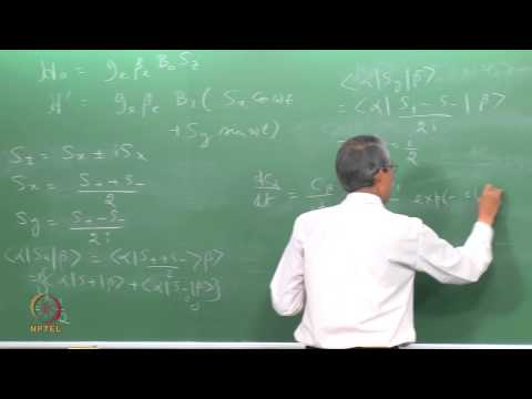 Mod-01 Lec-12 Quantum Mechanical Description of EPR – II
