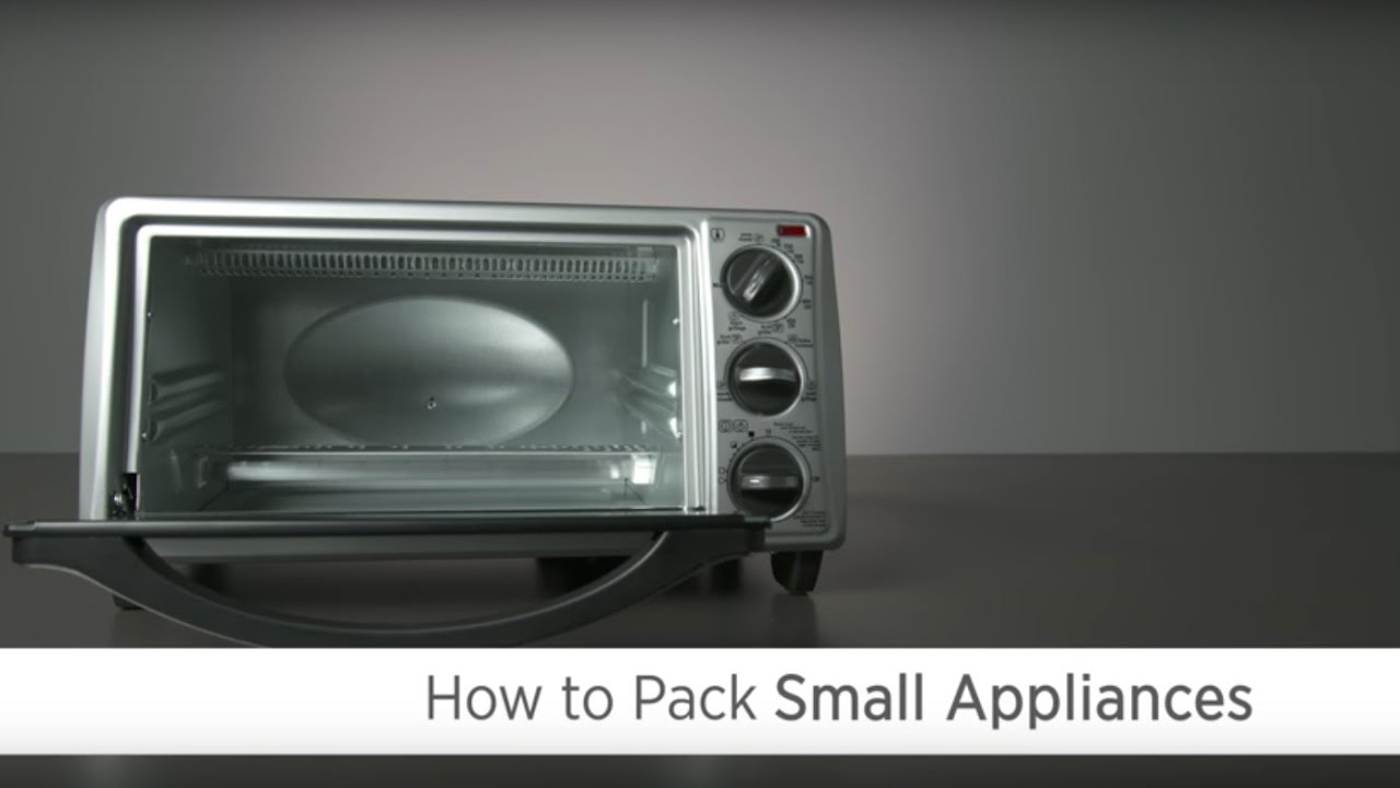 How To Pack Small Appliances Youtube
