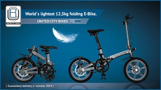 THE ONE - World´s lightest electric folding bike!