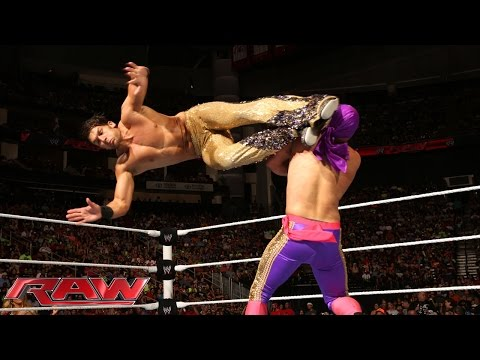 Diego vs. Fandango: Raw, July 28, 2014