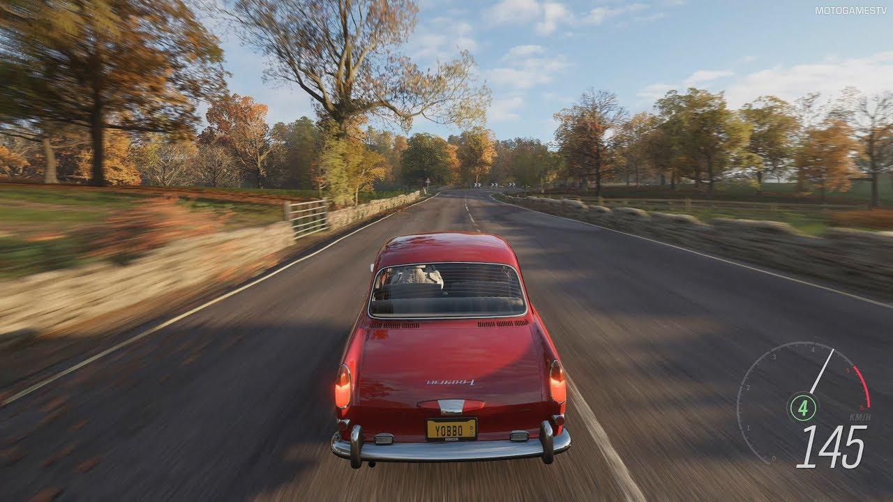 Forza Horizon 4 - 1967 Volkswagen Type 3 1600 L (VW Notchback) Gameplay [4K]