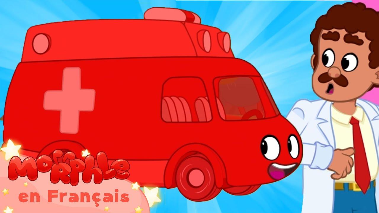 Morphle en Français | Encore l'ambulance | Morphle TV | Dessins Animés Pour Enfants