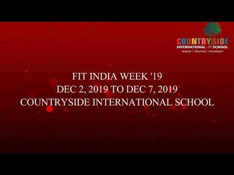 FIT INDIA WEEK AT CIS
