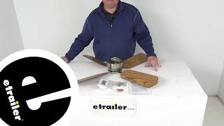 etrailer   Review of LaSalle Bristol RV Ceiling Fans - Standard Ceiling Fan - 344410TSDC36BNOKCY
