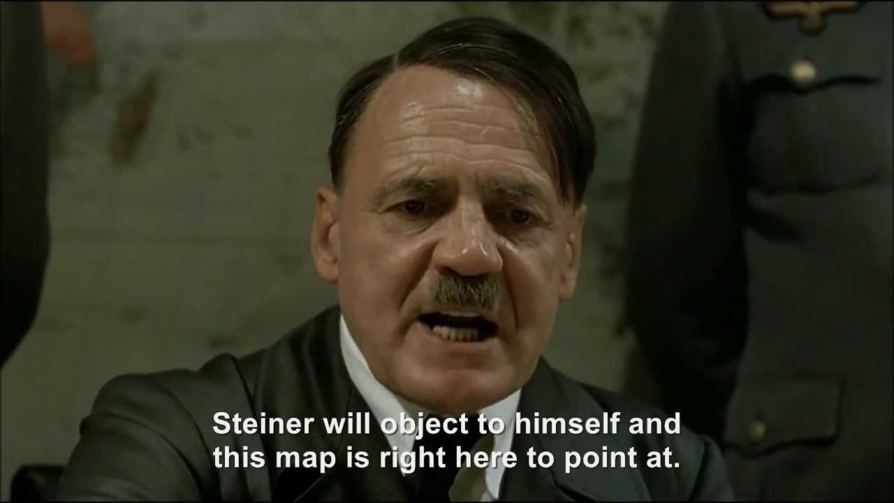 Hitler plans to object to his plan