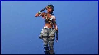 "New Skin ""Bag"" Dancing All My Gestures Fortnite: Battle Royale"