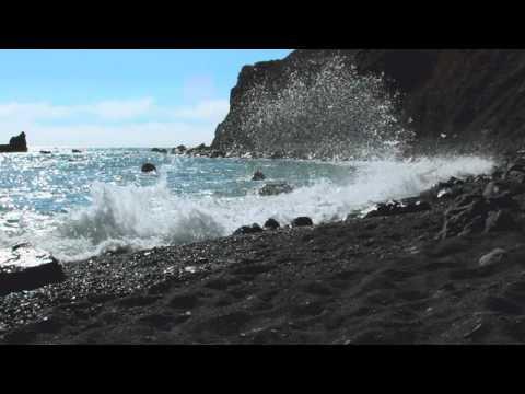 Lost Coast California Black Pebble Beach