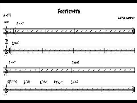 Wayne Shorter - Footprints (Bass-Drums-Piano Only) - mindformusic.com