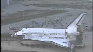 sts-133 Space Shuttle Discovery Rollover Timelapse