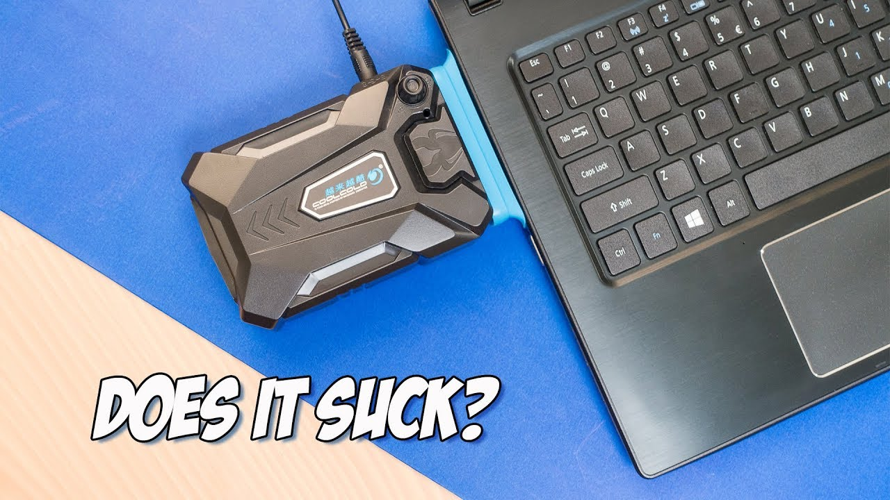 Cool Cold Laptop Vacuum Cooler Unboxing and Review