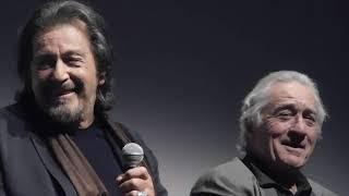 Martin Scorsese, Al Pacino and Robert De Niro discuss de-aging in THE IRISHMAN