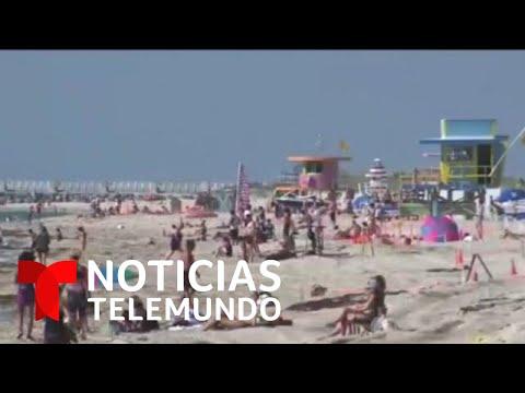 La Florida rompe récords de contagios de coronavirus | Noticias Telemundo