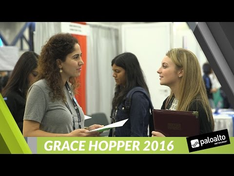 Palo Alto Networks at Grace Hopper 2016