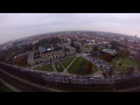 Aerial View of Leibniz Universität Hannover