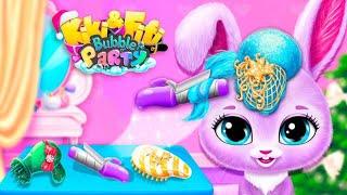 Kiki & Fifi Bubble Party Virtual Pet Dress Up Makeover & Mini Games  For Kids