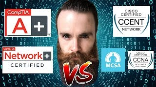 CompTIA or Cisco? - Should I get the CompTIA A+/Network+ OR the Cisco CCNA/CCENT - Microsoft MCSA?