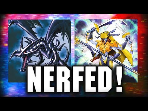 [Yu-Gi-Oh! Duel Links] HUGE CHANGES! Card Limits/Bans | CYBER ANGELS AND RED EYES NERFED